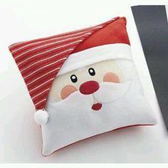 square Santa cushion