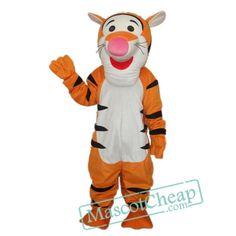 6th Version Tigger Mascot Adult Costume Free Shipping