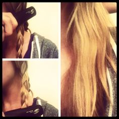 How to create relaxed beach waves.via Hollie takes notes