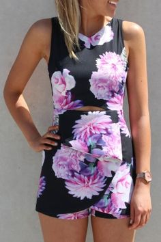 The PEONY PLAYSUIT is amaze.  Cut outs and zip closure at the back and a flattering cutout under the bust at the front.  $59 AUD SHOP ll http://www.jeanjail.com.au/ladies/peony-playsuit-black.html