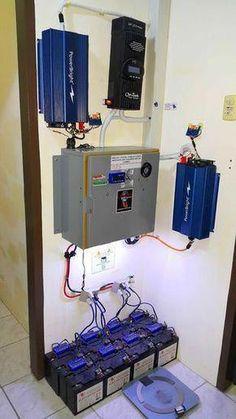 Solartechnik Komplette 220v Solaranlage TÜv 2x 100ah Akkus 200w Solarmodul 1000w Steckdose Spare No Cost At Any Cost