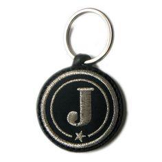 Alphabet Key Ring Silver J, 18€, by c'est à vous !!