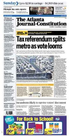 The Atlanta Journal-Constitution: July 29, 2012.