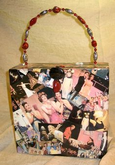 Cigar Box Purse Personalized with your Own Photos or Images - by handartdesignstudios, $50.00