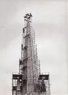 Repairs to Spire 1973