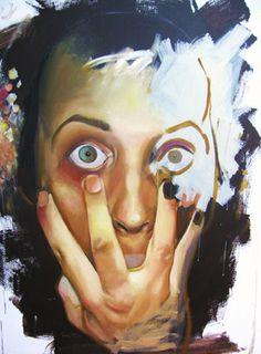 "Saatchi Online Artist Mihail -Miho- Korubin ; Painting, ""You"" #art"