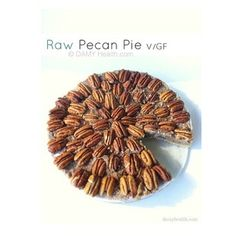AMAZING #Raw Pecan Pie perfect for this time of year. This recipe is raw #vegan #glutenfree made with whole, natural ingredients, 3 easy steps, simple to make and is the best raw pecan pie out there! #OnTheBlog www.DAMYHealth.com direct link below #vancouver #vegansofig #vegetarian #veganfoodshare #21dayvegan