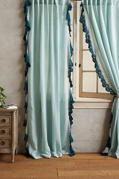 Anthropologie Ombre Lace Curtain #anthrofav