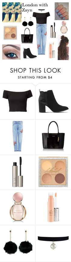 """""""London with Zayn"""" by danielle21-styles ❤ liked on Polyvore featuring Kenzo, Office, Citizens of Humanity, Calvin Klein, Free People, Ilia and Bulgari"""