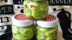 Zippy pickled Brussels sprouts are a great accompaniment to any meal.