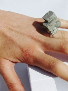 Concrete Objective Ring   NOT JUST A LABEL.... Now I've seen everything...