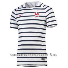 Camiseta copa mundo 2018 camisetas de fútbol baratas: Entrenamiento camiseta Mundial Francia 2018 camise...