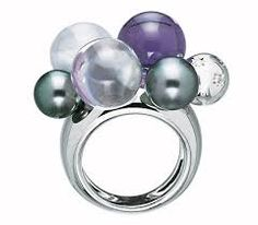 beautiful baccarat ring
