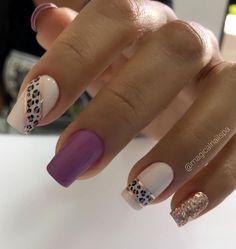 La Nails, Neutral Nails, Summer Acrylic Nails, Elegant Nails, Square Nails, Nail Arts, Simple Nails, Beauty Nails, Pretty Nails
