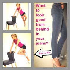 Look great from behind in your jeans with this move. Lucy x https://www.youtube.com/user/LWRFitnessChannel