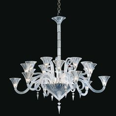 Baccarat - Mille Nuits Chandelier 2609529 - luxury crystal lighting on select-interiormarket.com