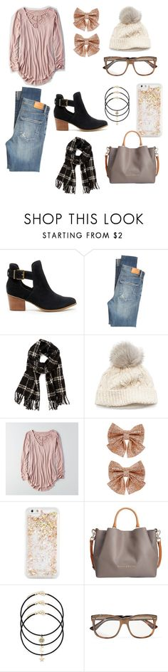 """""""Untitled #6"""" by nmarieo-1 ❤ liked on Polyvore featuring Sole Society, Citizens of Humanity, SIJJL, American Eagle Outfitters, Monsoon, ban.do, Dooney & Bourke and Gucci"""