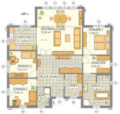 Immobilienportal Hessen: Luxus-Bungalow mit schickem Wintergarten (HANLO-Haus)