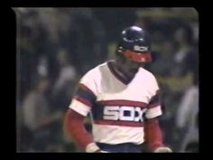1983 ALCS Game 3   Baltimore Orioles at Chicago White Sox, Baines at the plate.