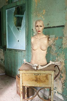 Abandoned TB Hospital - Womens Wards by AeroFennec, via Flickr