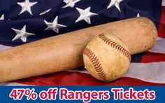 47% off Texas Rangers Tickets vs Tampa Bay Rays Wed. Aug. 29 @ 6:05pm
