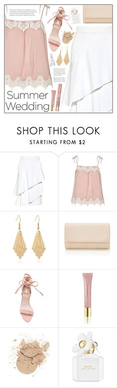 """""""Summer Wedding"""" by goldenpixiedust ❤ liked on Polyvore featuring Marissa Webb, River Island, AERIN, L'Oréal Paris and Marc Jacobs"""