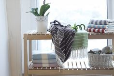 Indulge yourself to these exceedingly absorbent and soft hand-woven peshtemal towels perfect for that summer Holiday. By Cotton and Olive Designed in Turkey Quilt Sets, Lush, Towels, Hand Weaving, Bamboo, Quick Dry, Cotton, Turkey, Inspiration