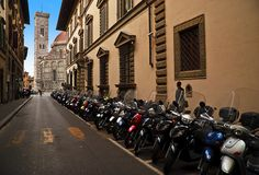 Touring by Vespa (Italy). 'What could be more Italian than hopping on a Vespa and cruising the countryside, stopping to visit wine estates, medieval pieve (rural churches) and hilltop towns along the way? The famous scooter is ubiquitous throughout the region and ideally suited to slow travel. If you hire one, the only accessories you'll need for a perfect day or two of touring are a driving map and gourmet picnic  provisions.' http://www.lonelyplanet.com/italy/tuscany