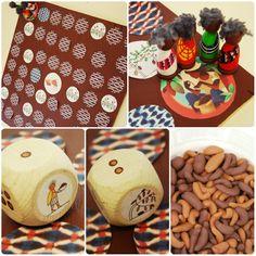 Bordspel: verzamel de cacaobonen voor het produceren van chocola! Chocolate, November, Desserts, Food, Teaching, School, Africa, November Born, Tailgate Desserts