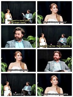 jennifer on zach talk show