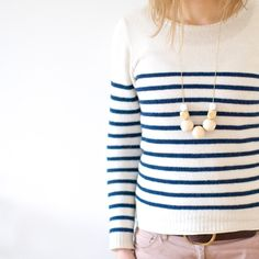 Wooden necklace made in Germany