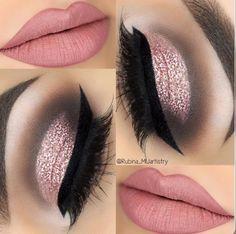 Eye Makeup Tips – How To Apply Eyeliner – Makeup Design Ideas Cute Makeup, Glam Makeup, Gorgeous Makeup, Makeup Inspo, Makeup Inspiration, Hair Makeup, Makeup Ideas, Makeup Shayla, Teen Makeup