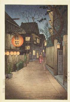 Noel Nouet, Kagurazaka at Ushigome