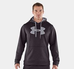 Men's Armour® Fleece Storm Big Logo Hoody