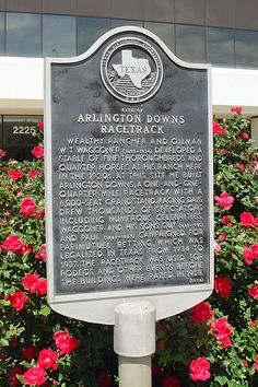 Arlington Downs Marker Texas Shared By Green Top Lawn Care We