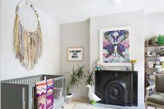 Bohemian Kids' Room: A Boho-inspired nursery in Brooklyn, NY..