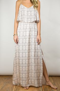 Myne - Clover Maxi Dress   Chloe Rose $275 #delightfullychic