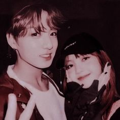 Kpop Couples, Blackpink And Bts, Kim Jennie, Blackpink Lisa, Beautiful Couple, What Is Love, King Queen, Bts Jungkook, Idol