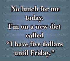 New diet!