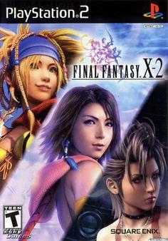 Final Fantasy X-2 PS2, esta fue la ruptura de la tradicion en la cual ningun juego de esta saga se parece a algun otro anterior, la verdad la historia del FFX no requeria una secuela, aun asi su modo de juego es muy diferente
