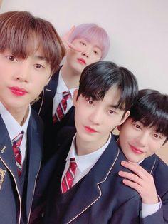The Boyz sunwoo hwall Golden Child Bomin astro sanha Extended Play, Jaehyun, Hey Man, Woollim Entertainment, Kpop Guys, Golden Child, Korean Men, Btob, Kpop Aesthetic