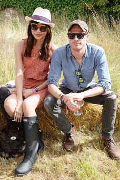 Gemma Chan and Sam Reid - Wilderness Festival in Oxfordshire, England