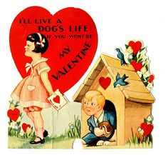 Love the Old Valentine Cards. * 1500 free paper dolls at Arielle Gabriel's The International Paper Doll Society and The China Adventures of Arielle Gabriel for Chinese and Japanese paper dolls free *