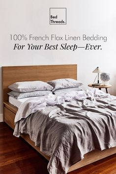 Our French flax linen bedding comes in 16 colours. Mix and match them to create a stylish bedroom and enjoy your most comfortable sleep—ever.