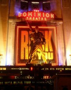 The Dominion Theatre - Tottenham Court Road, West End Theatres, Theater Tickets, We Will Rock You, London Theatre, Plays, Musicals, England, Games, English