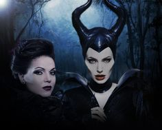 Evil Queen & Maleficent. AWESOME!
