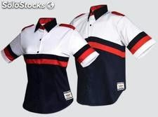 Camisa blusa racing Polo Design, Big Men Fashion, Whatsapp Messenger, Dress Shirts For Women, Polo Shirt, T Shirt, Work Wear, Sportswear, Shirt Designs