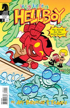 Aw yeah! Art Baltazar and Franco return to Itty Bitty Hellboy! This time, Hellboy, Abe, Liz, and friends are on a very special quest . . . to deliver underwear to the Island of Rogers! But their missi