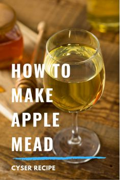 Apple Mead / Cyser Recipe Apple Mead / Cyser Recipe Generally there is much homework handling the hu Brewing Recipes, Homebrew Recipes, Beer Recipes, Alcohol Recipes, Mead Wine Recipes, Fireball Recipes, Coffee Recipes, Homemade Wine Recipes, Homemade Alcohol