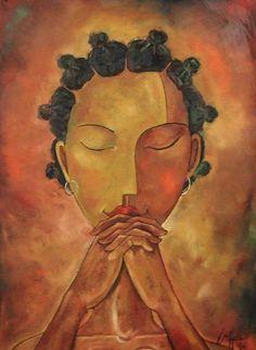 Michael Escoffery, Cassandra in Prayer